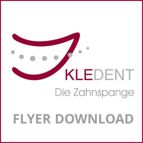 KLEDENT Icon Logo für Flyer Download