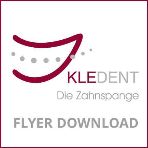 KLEDENT Icon Logo für Flyer Download